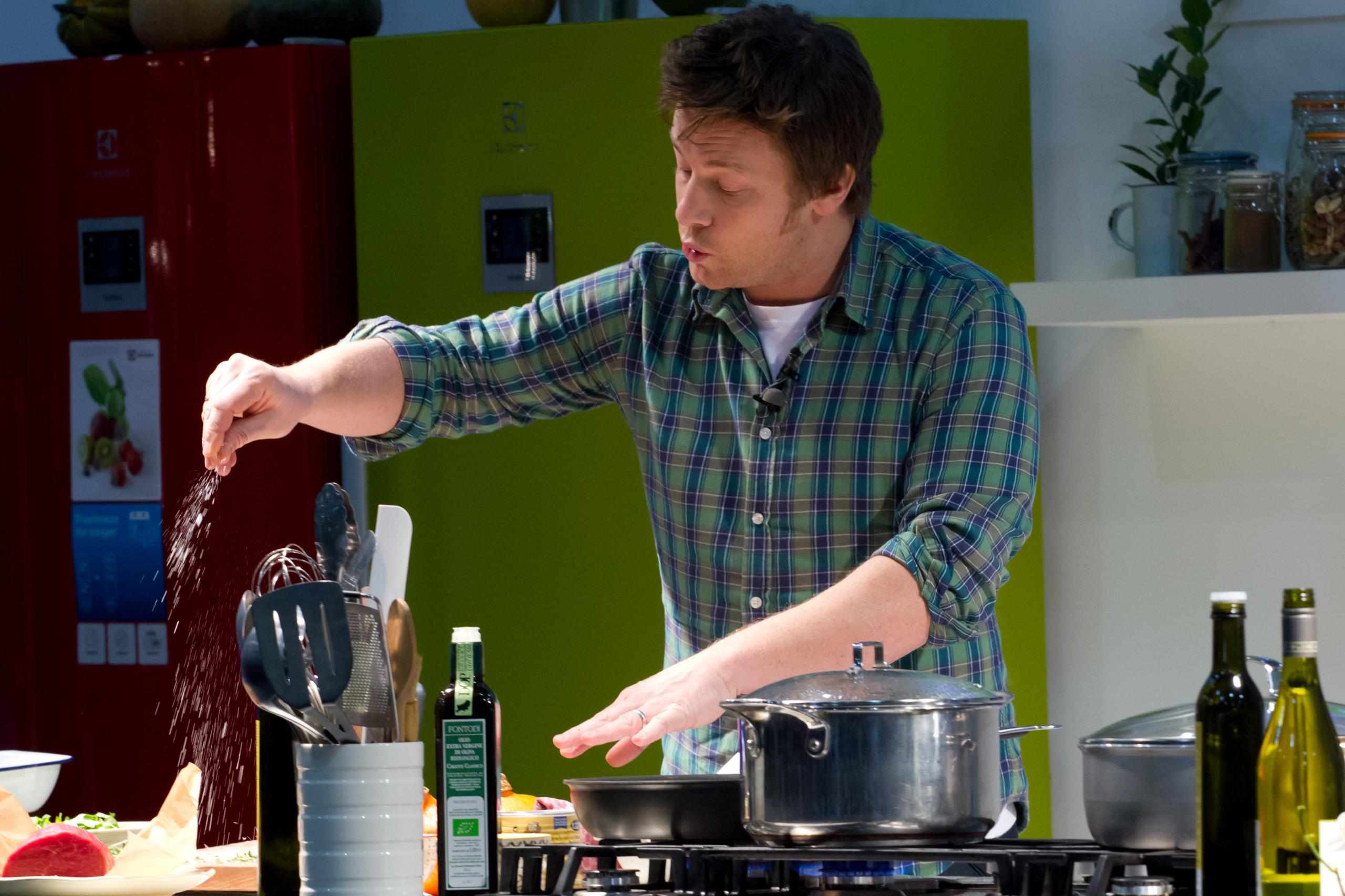 Jamie Oliver content